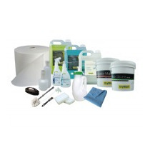 Kit Completo Para 100 Lavagens A Seco Drywash