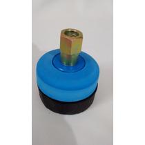 Kit Lustrador Boina De Espuma 3 Com Velcro Disco E Adaptador