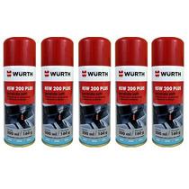 Kit 5 Un. Higienizador Ar Condicionado - Hsw200 Plus - Würth