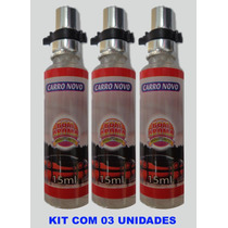 Kit Aromatizante Automotivo 03 Unid - 15ml Aroma Carro Novo