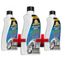 3x Silicone Gel Autoshine Limpa Plastico E Borracha - 3x200g
