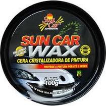Cera Cristalizadora Sun Car Wax