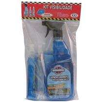 Kit Visibilidade - Cristalizador Anti-embaçante Limpa Vidros