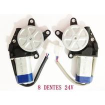 Motor Mabuchi P/ Vidro Eletrico 8 Dentes 24v
