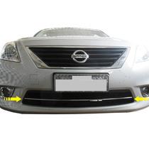 Friso Cromado Parachoque Inferior Grade Nissan Versa
