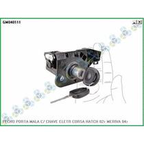 Fecho Original Porta Mala C/ Chave Eletr Meriva 04 Diante