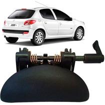 Maçaneta Externa Porta Dianteira Peugeot 206/207 L Direito