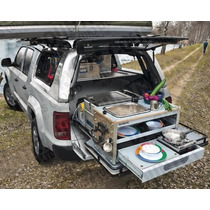 Bagageiro Deslizante Bau Ferramentas Off Road Campping