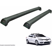 Rack Teto Renault Fluence Long Life Preto