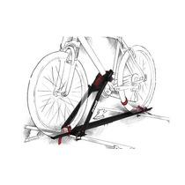Suporte De Bicicleta Para Carro - Bike Teto Velox Aço Eqmax