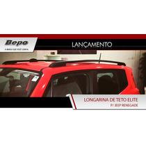 Oferta! Longarina Rack De Teto Jeep Renegade Bepo - Não Fura