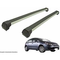 Rack Teto Citroen C4 Hatch Long Life Prata