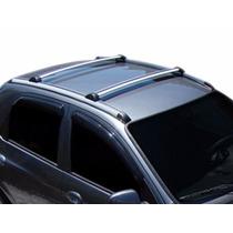 Rack De Teto Corsa Hatch Modelo Original Bagageiro Prata
