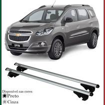 Par Travessa C/ Chave Rack Teto Chevrolet Spin 2013 A 2016