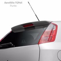 Aerofólio Tgpoli Fiat Punto 2007 A 2014 S/leds Prata 04.195
