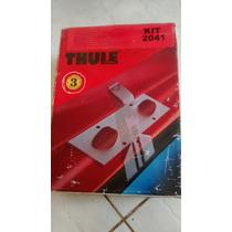 Rack Thule Com 2 Barras Kit 2041 Pajero Sport