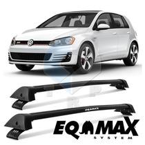 Rack Automotivo Eqmax Wave Golf 2015 Preto
