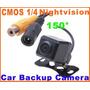 Câmera Ré Automotiva Estacionamento Parachoque Cor Dvd Gps