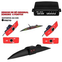 Sensor De Ré Original 4 Pontos Display Slim Em Led Colorido