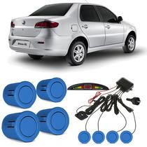 Sensor De Estacionamento Fiat Siena Azul Maserati