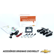 Kit Sensor Estacionamento Ré Original Gm Prisma Novo