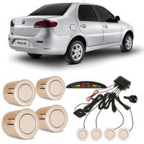 Sensor De Estacionamento Fiat Siena Bege Savannah