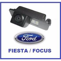 Câmera De Ré Para Luz De Placa Ford Focus New Fiesta