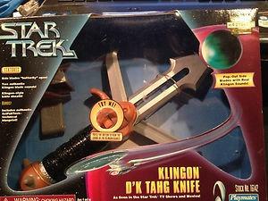 Faca Klingon Star Trek (com Som) Playmates