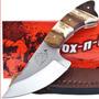 Faca Fox-n-hound Skinner Stag Horn, Full Tang.