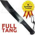 Facao Machete Tatico Sobrevivencia Rambo Bushcraft Full Tang