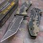 Faca Tática Canivete Tac Force Militar G10 Aço Pesca Caça