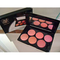 Paleta Blush Ruby Rose 6 Cores Lindas