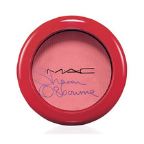 Mac Blush Sharon Osbourne Peaches & Cream Limitado! Lindo!