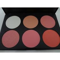 Paleta De Blush Manly - 6 Cores