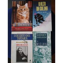 Lote 04 Livros Literatura - Sidney Sheldon , Irvin Shaw ...