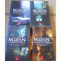 Coleção As Crônicas De Gelo E Fogo ( 04 Livros)