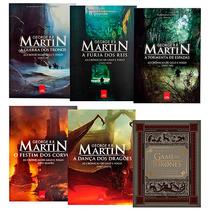 Coleção As Crônicas De Gelo E Fogo + Guia Hbo (6 Livros) #