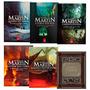 Kit Livros Crônicas De Gelo E Fogo + Guia Game Of Thrones