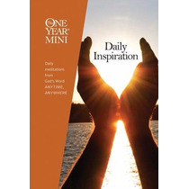 Livro Em Inglês - The One Year Mini Daily Inspiration
