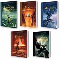 Coleção Percy Jackson & Os Olimpianos (5 Livros) #