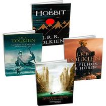 Kit Livros Senhor Dos Anéis (4 Volumes) - Novo