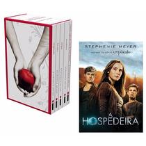 Kit Livros - Box Saga Crepúsculo + A Hospedeira (6 Livros) !