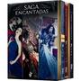 Box Saga Encantadas ( Veneno Poder Feitiço ) + Livro Brinde