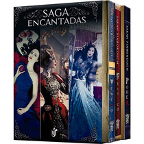 Box Saga Encantadas (veneno/ Poder /feitiço ) + Livro Brinde