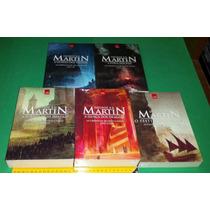 Guerra Dos Tronos - 5 Livros - Em Português - Formato Grande