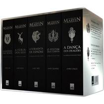 Game Of Thrones - Box 5 Livros | Crônicas De Gelo E Fogo