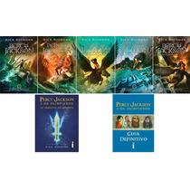 Coleção Percy Jackson & Os Olimpianos Nova Capa (7 Livros)