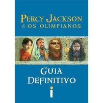 Livro Percy Jackson E Os Olimpianos Guia Definitivo Lacrado