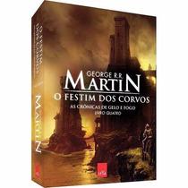 Livro O Festim Dos Corvos - Volume 4 - Frete Grátis