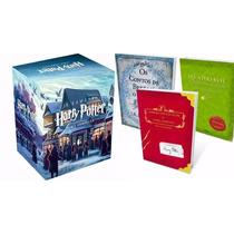 Harry Potter Box Coleção + Kit Biblioteca Hogwarts 10 Livros